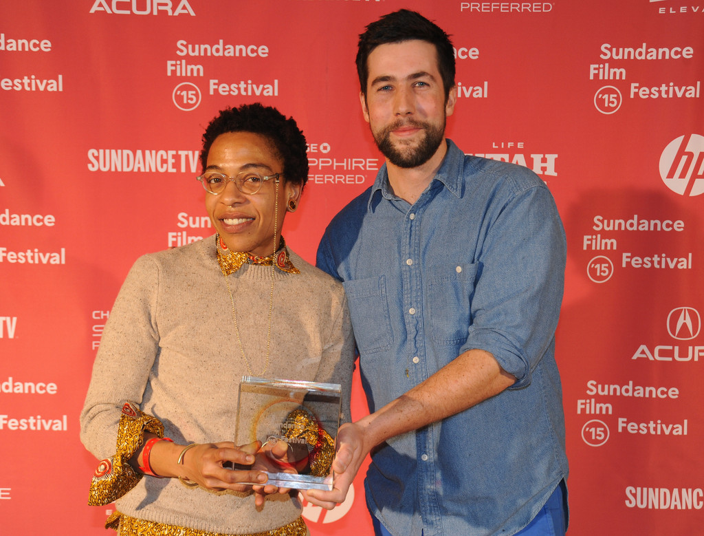 Co-Directors Lyric R. Cabral and David Felix Sutcliffe at the 2015 Sundance Film Festival
