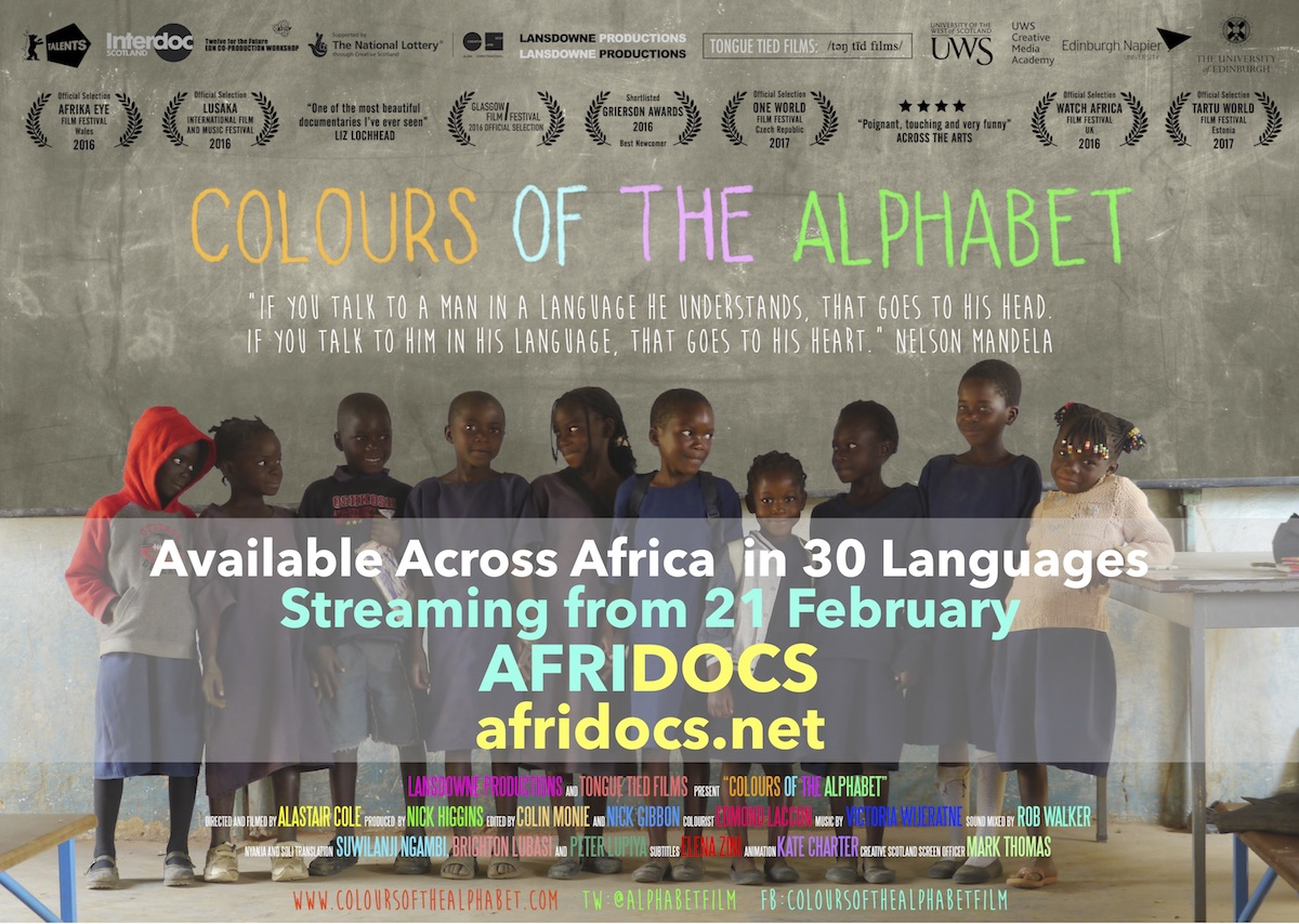 Colours of the Alphabet African Language release