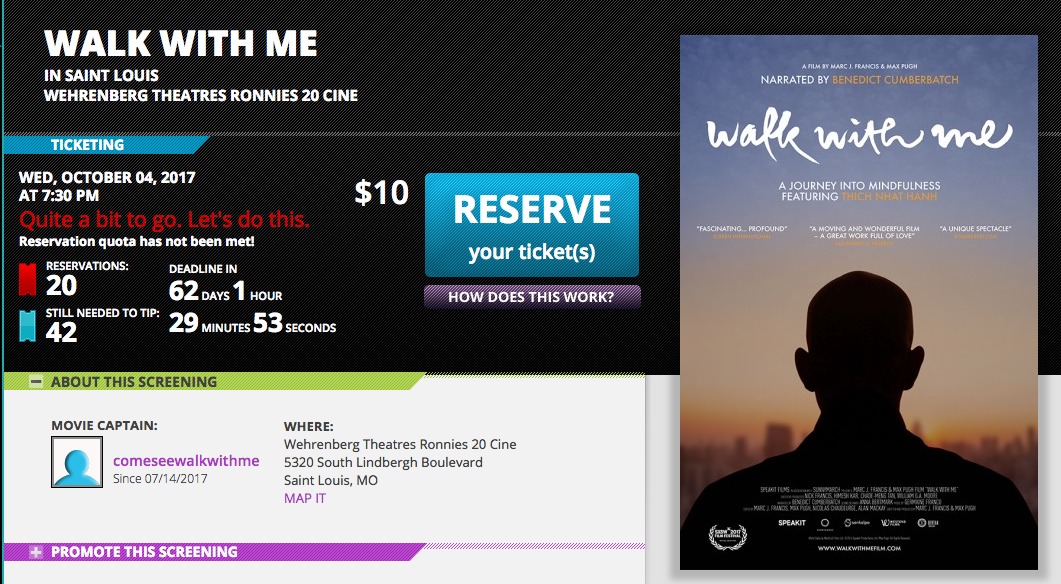 Host A Screening Frequently Asked Questions Walk With Me